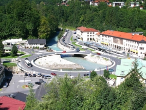 Berchtesgaden Kreisverkehr