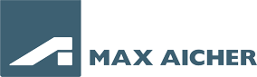 Max Aicher Button Schrift Web
